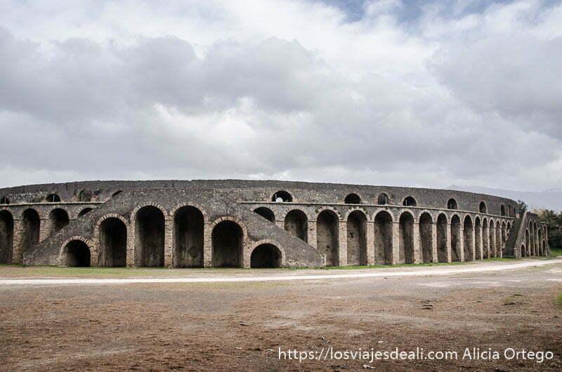 anfiteatro de pompeya
