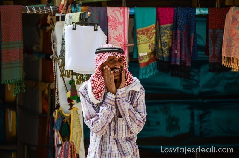 jordano en pequeña petra