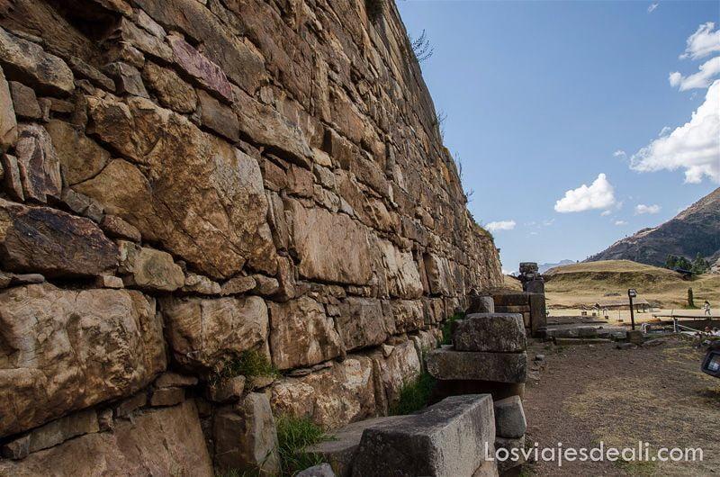 muros de chavin de huantar