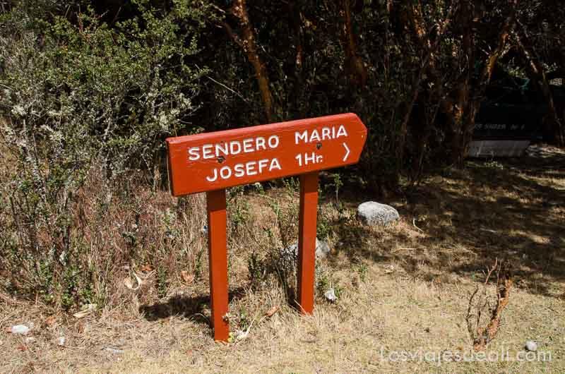 parque nacional de huascaran sendero