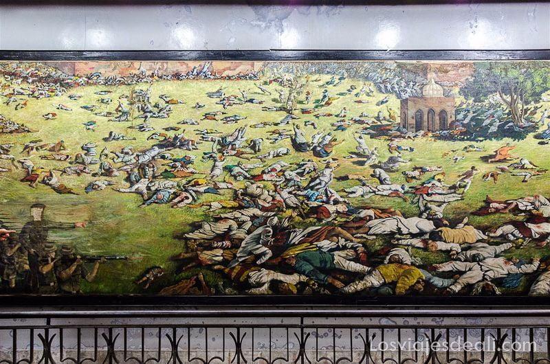 que ver en Amritsar memorial jalliangwala