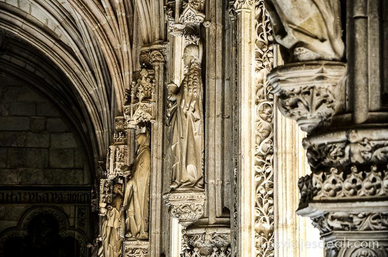 Espacios Greco claustro san juan de los reyes detalles