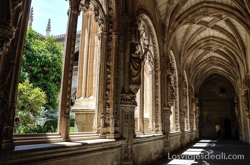Espacios Greco claustro san juan de los reyes_