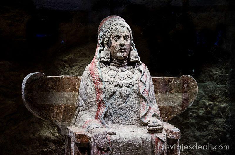 Museo Arqueologico Nacional de Madrid dama celta