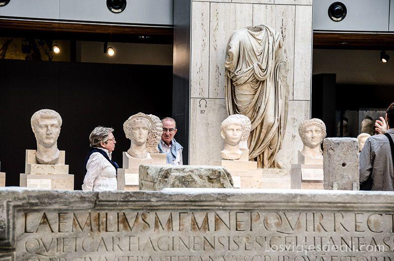 Museo Arqueologico Nacional de Madrid patio
