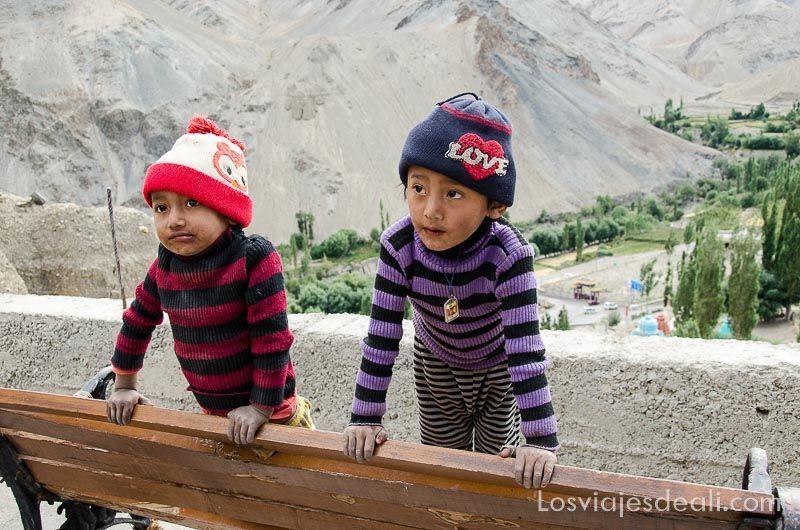 niños de lamayuru