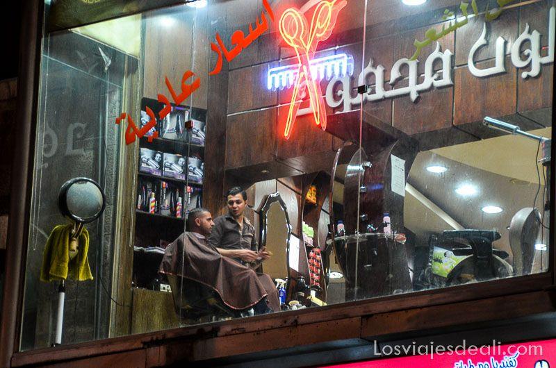 Amman peluquero