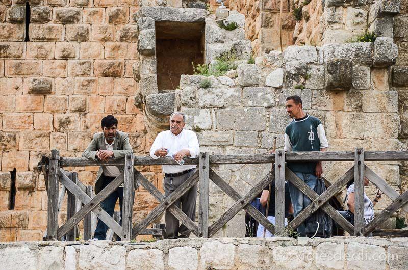 um qays y ajlun puerta del castillo