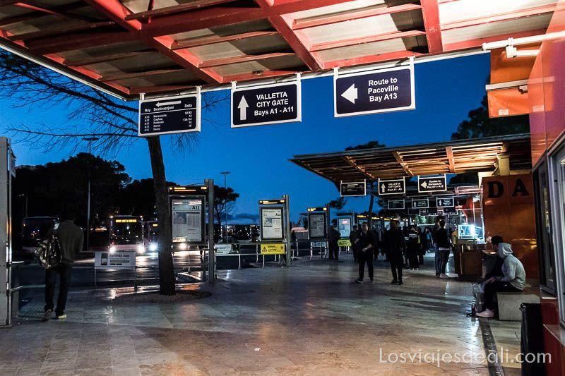 estacion autobuses en 7 dias en malta