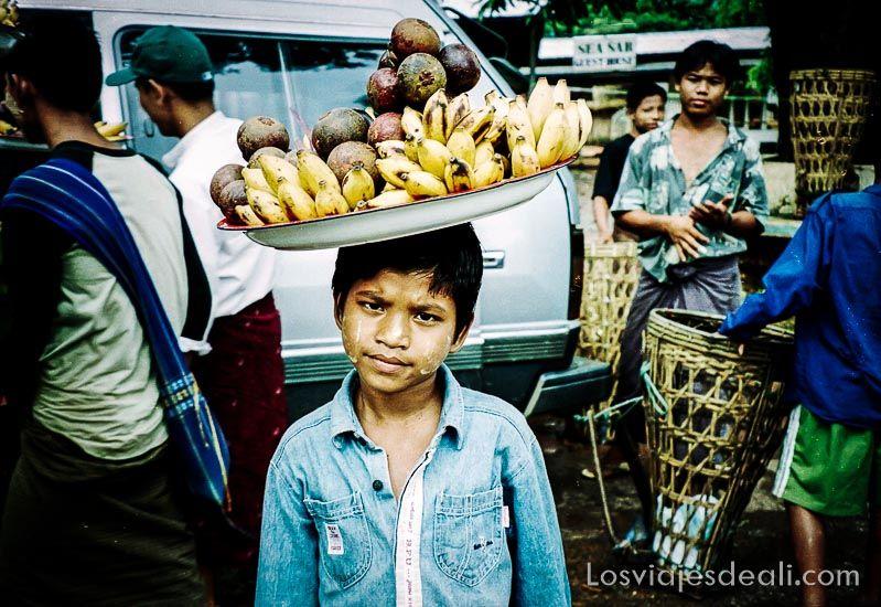 myanmar vendedor