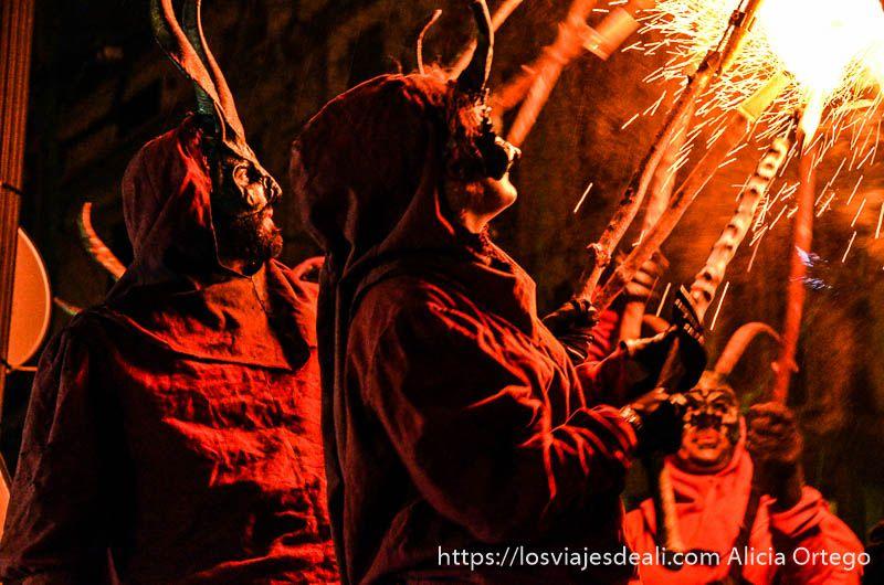 palma en fiestas demonis