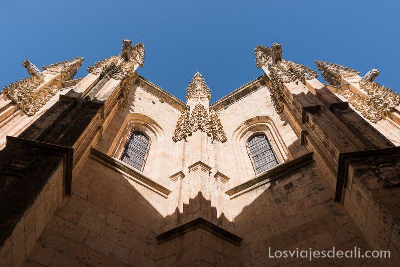 un día en segovia gargolas catedral