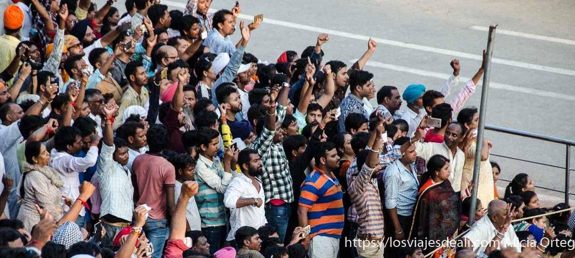 ceremonia frontera india-pakistan_