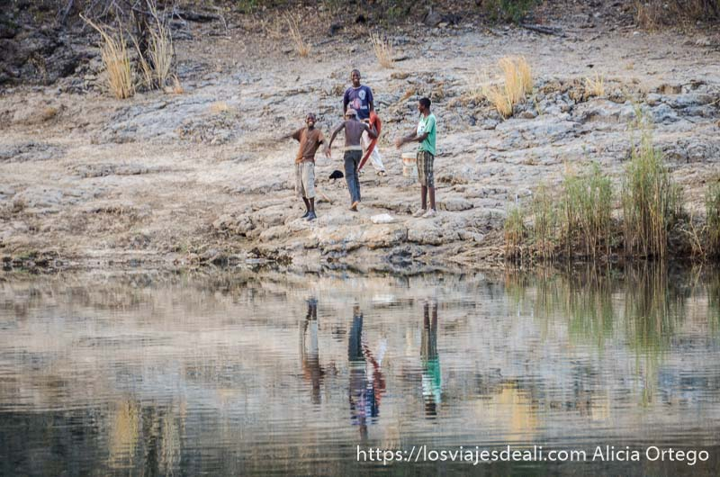 frontera con angola río kavango