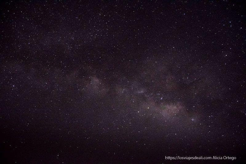 vía Láctea en Sudán