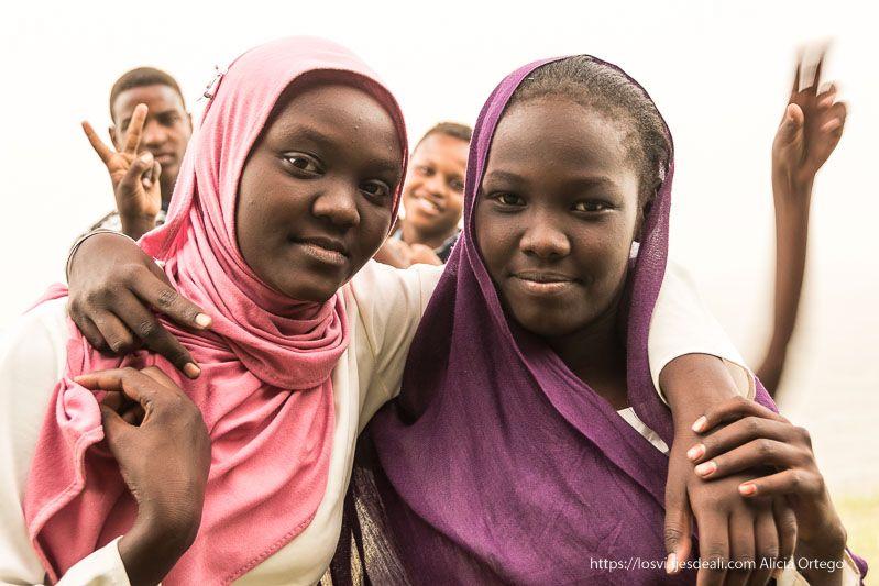 retratos del primer día en Sudán