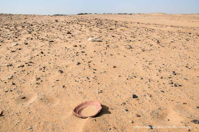 yacimiento de kawa en Sudán