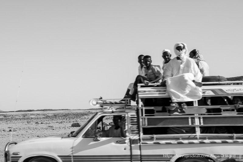 on the road en Sudán
