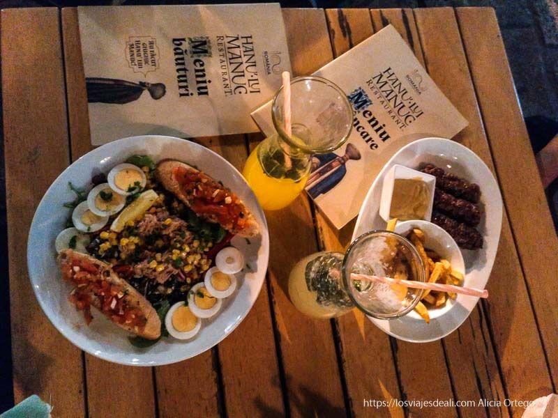 cena en Bucarest