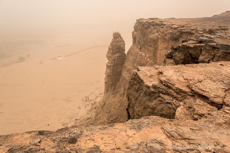 templo de Amón desde la cima de Jebel Barkal