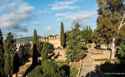 visitas imprescindibles en Málaga castillo gibralfaro