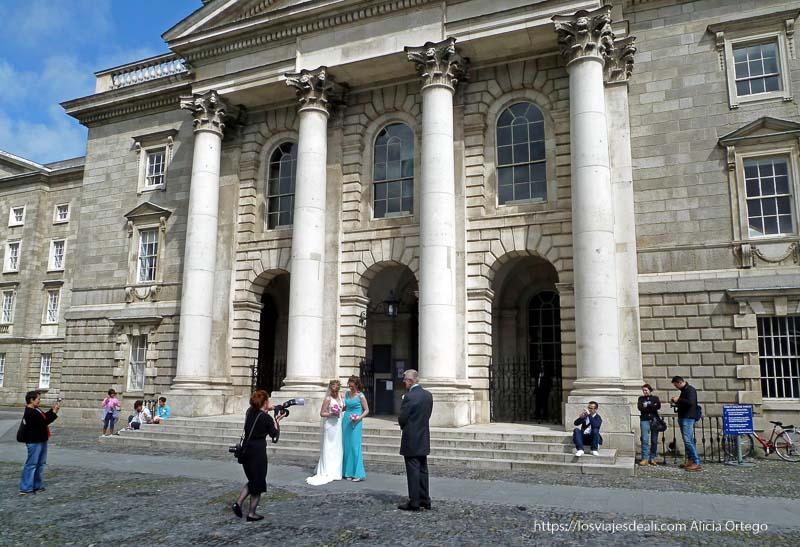 boda en el trinity college