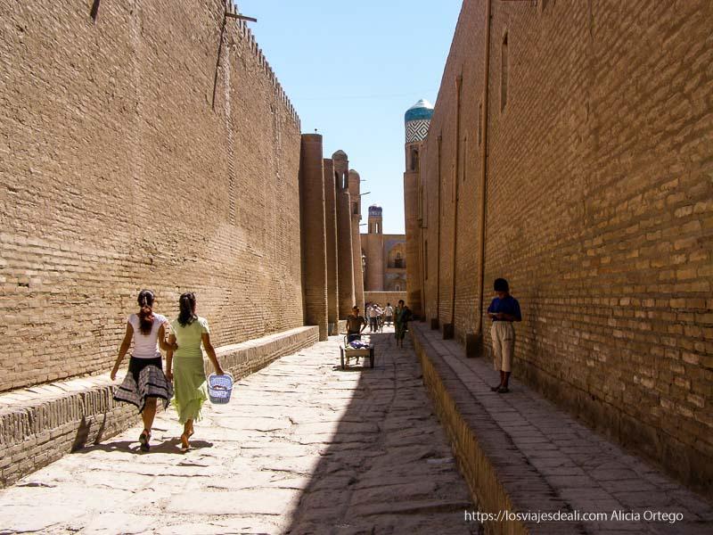 calles de la vieja khiva
