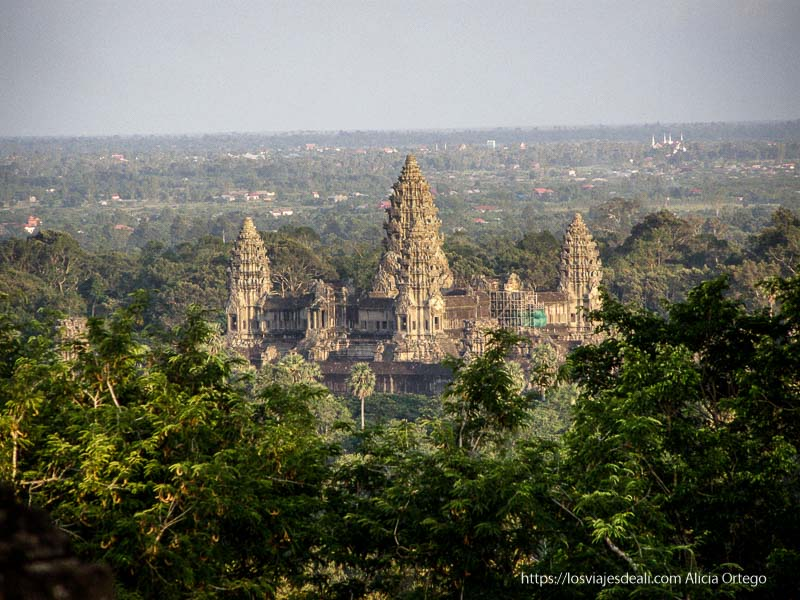 angkor wat desde las alturas templos de angkor