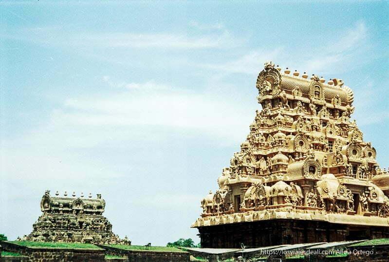 gopuras o torres de thanjavur de tamil nadu a kerala