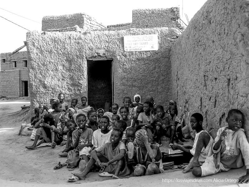 niños de la madrasa de tombuctú