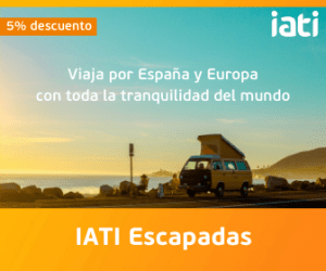 banner IATI escapadas con 5% descuento