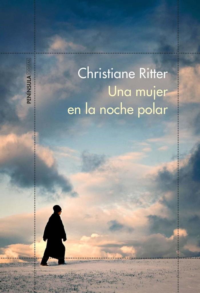portada del libro una mujer en la noche polar de Christiane Ritter