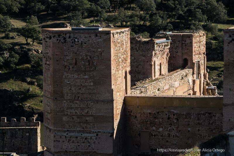 torres del castillo de Buitrago del Lozoya