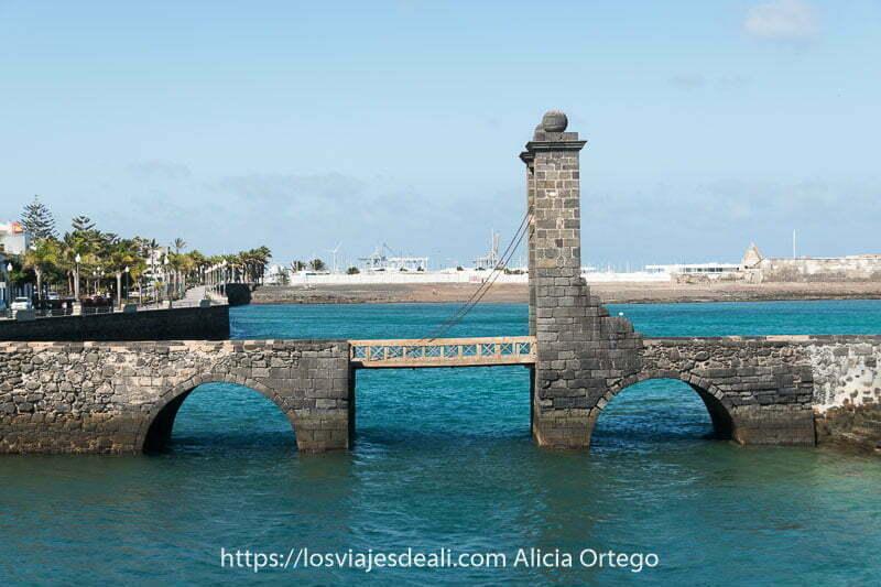 puente de bolas de arrecife