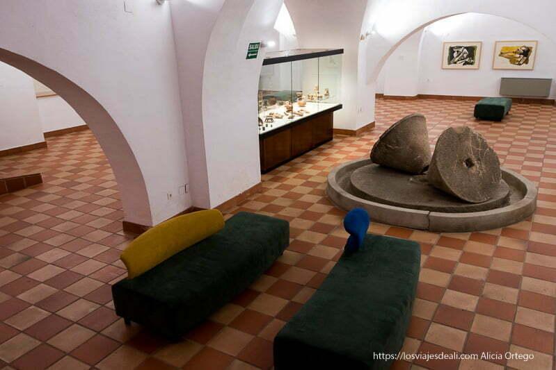 sala principal del museo de guayasamin de cáceres