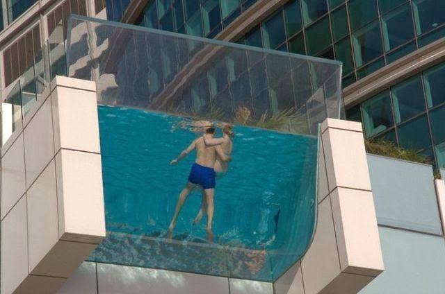 Piscina Hilton Hotel Auckland.
