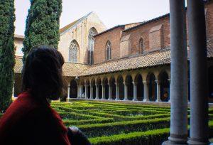Clautro del convento de los jacobinos, imprescindible ver en Toulouse
