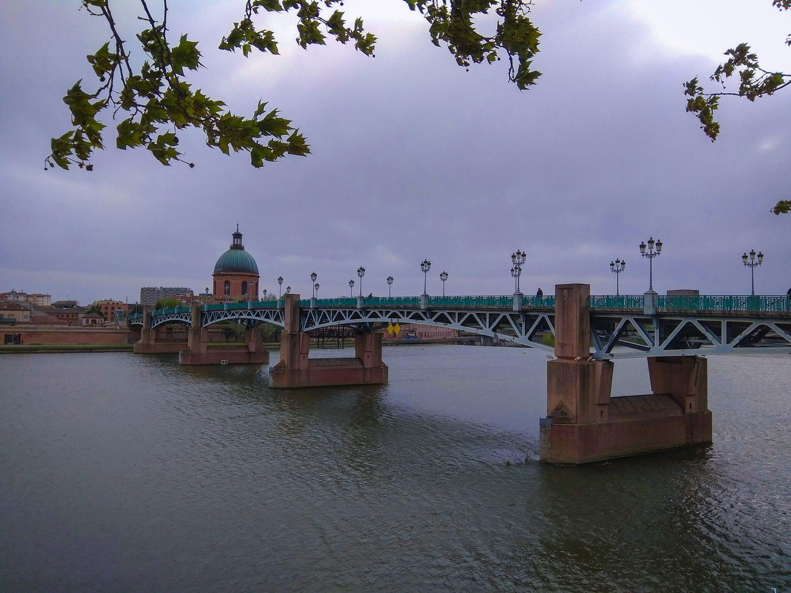 Rio Garona en Toulouse