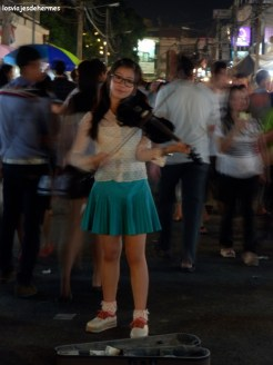 Gente en Tailandia...