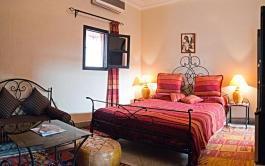 Habitación Roja en el Riad Losra