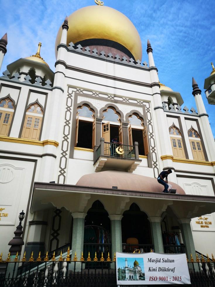 Mezquita del Sultán Singapur