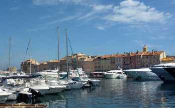 Escala de crucero en Saint Tropez
