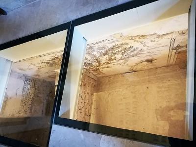 07 Pinturas murales Siglo XII encontradas a raiz del terremoto 2011 Lorca