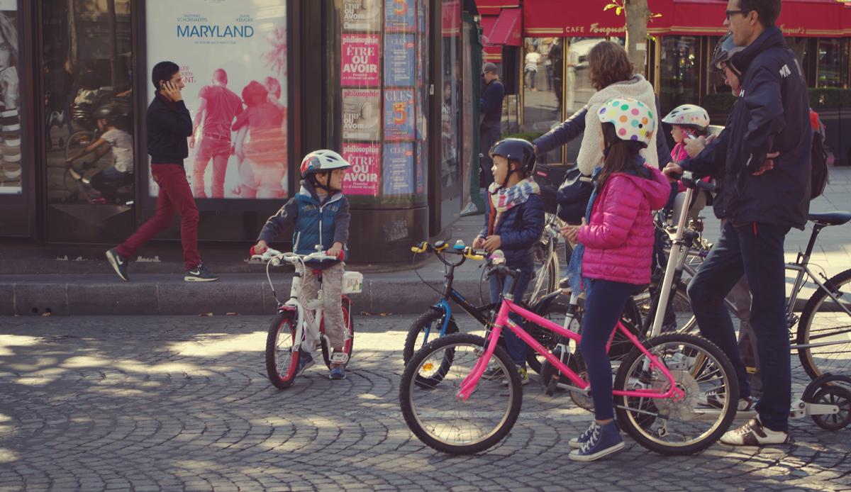 Un día sin autos en París