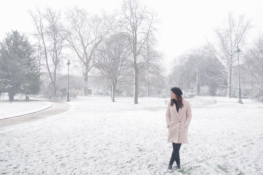 En busca de la nieve en París