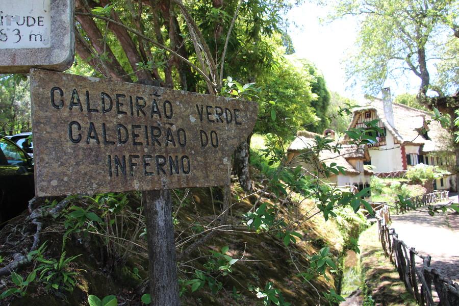 Ruta Caldeirao Verde. Santana