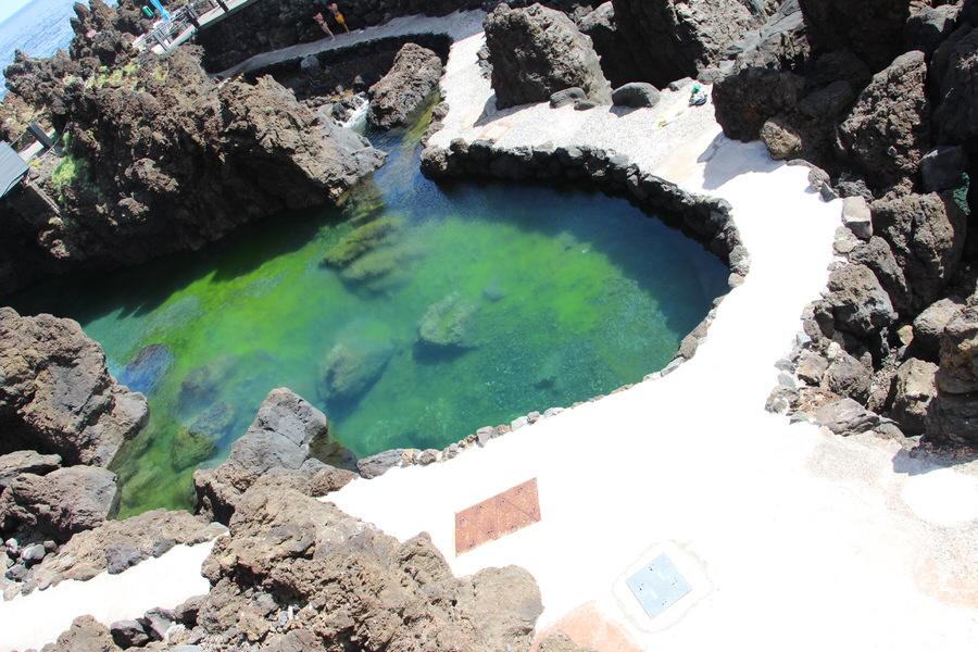 Piscinas de agua marina- Porto Moniz.Madeira