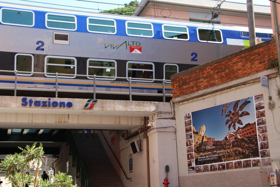 -Estación de ferrocarril, Cinque Terre-