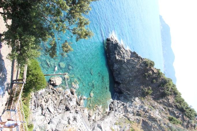 -Aguas turquesas que invitan al baño, Cinque Terre-