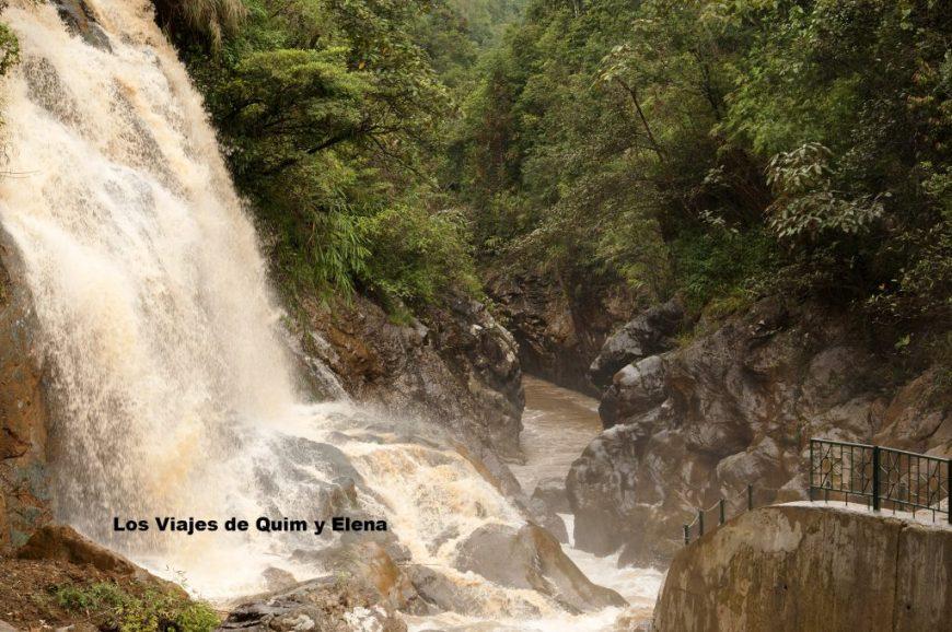 La cascada Tien Sa